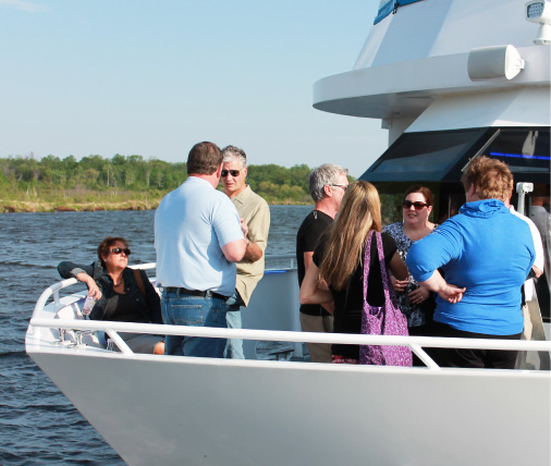 destiny cruises in brainerd on gull lake