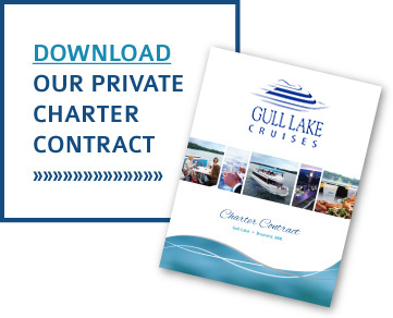 Download our private charter contract for Gull Lake Cruises