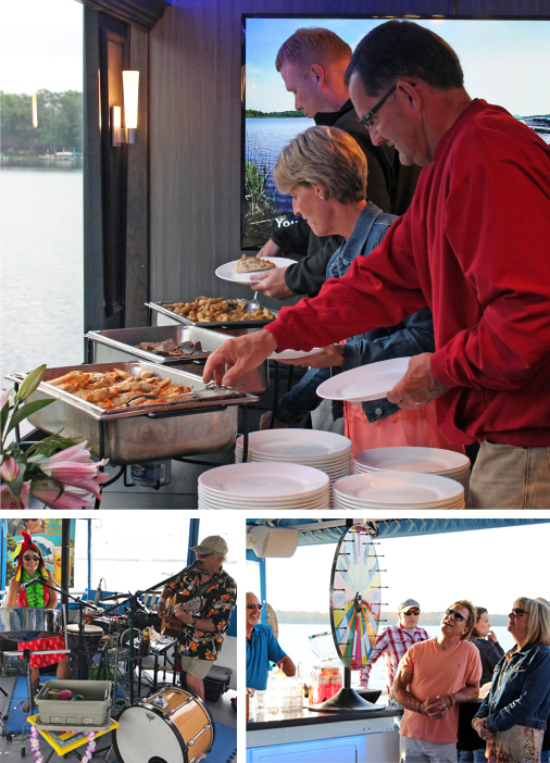 Fundraiser on Gull Lake Cruises in Brainerd Minnesota